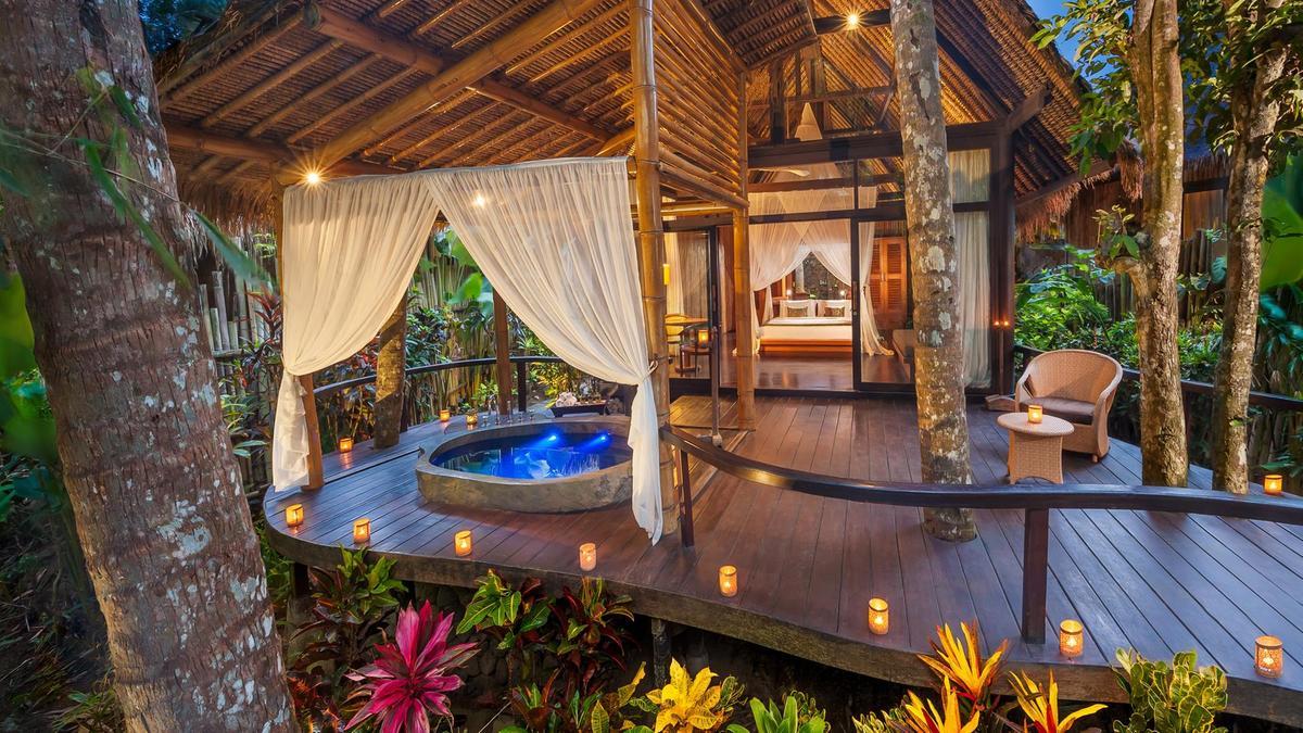 luxury wellness retreat