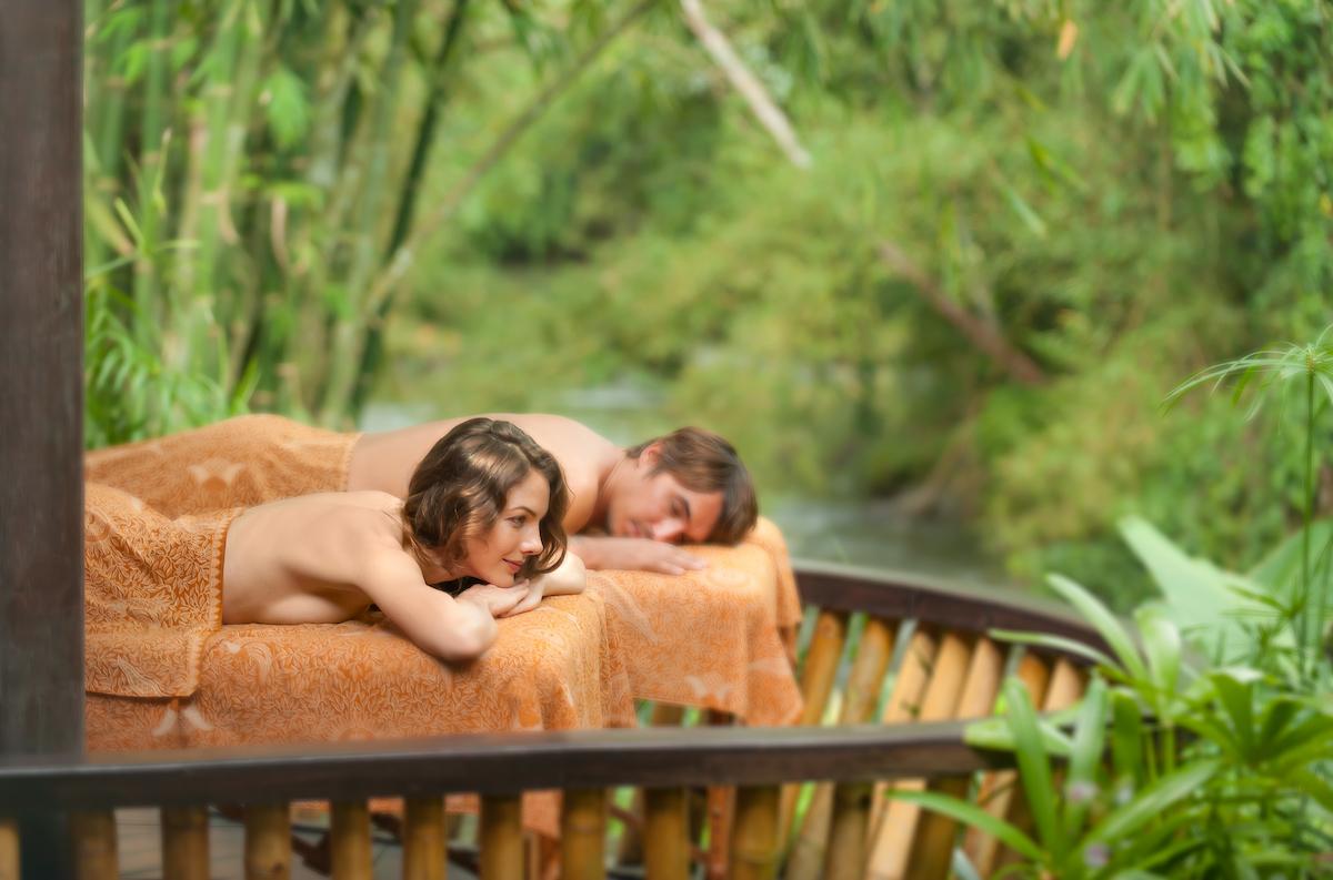 luxury couple retreat
