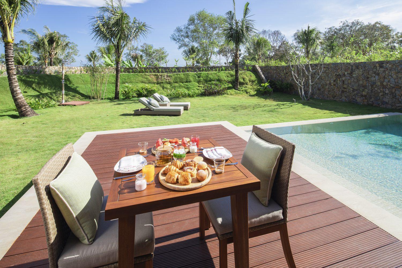 In villa breakfast fusion resort phu quoc